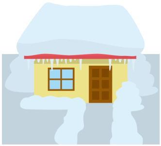 山雪型と里雪型【冬型の気圧配置】