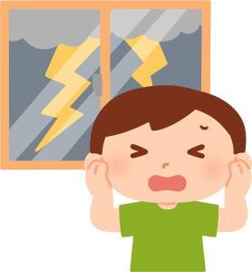 雷とは!光と音の関係は?