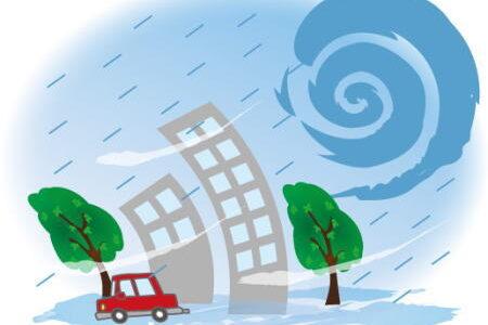 台風の大きさ・強さの基準は?