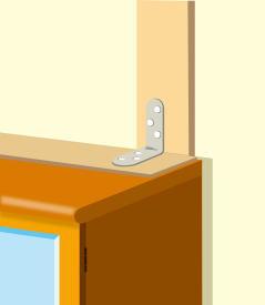 食器棚・冷蔵庫のの転倒防止