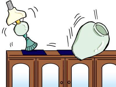 リビングでの地震対策は?リビングで地震が起こったら?