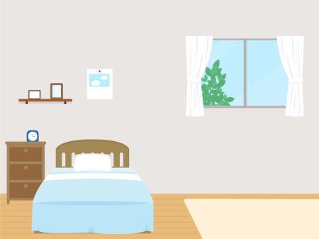 寝室で地震が起こった場合の取るべき行動