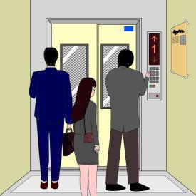 地震でエレベーター内に閉じ込められたらどうする?
