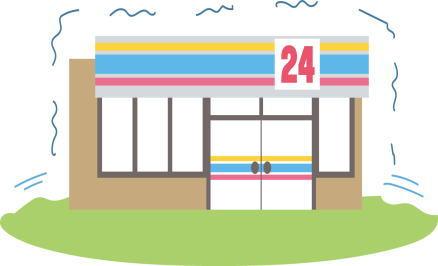 スーパー・コンビニで買い物中に地震が起きたらどうする?