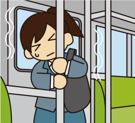電車の中でのリスクを少しでも減らす対策とは?