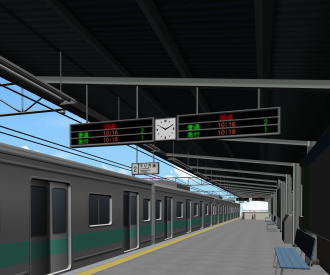駅の構内で地震が起こったらどうする?