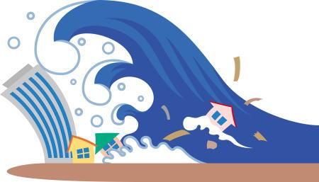 津波の仕組みや発生条件は?津波の速さ・深さ・高さの関係は?