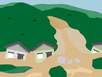 山では土砂災害が発生!備えは?